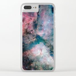Carina Nebula - The Spectacular Star-forming Clear iPhone Case