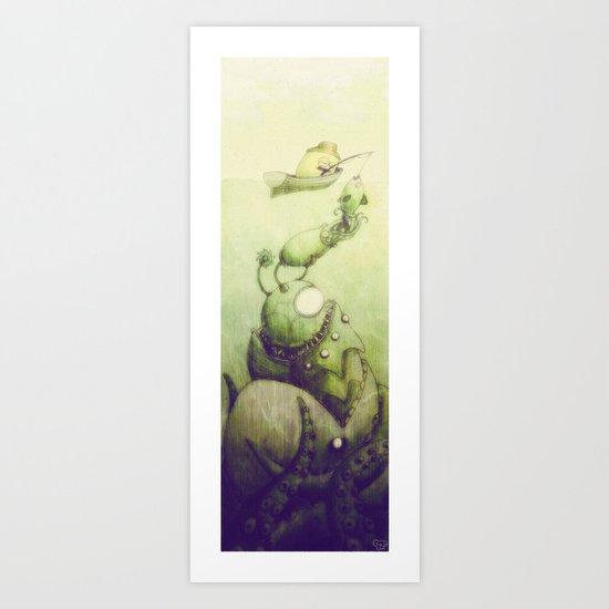 Ooli Sea Art Print