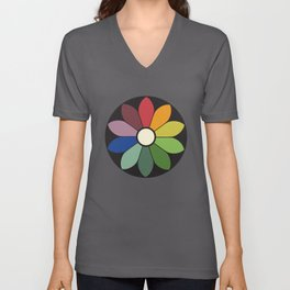 James Ward's Chromatic Circle Unisex V-Neck