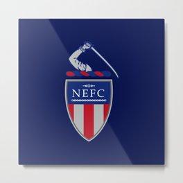 NEFC (English) Metal Print