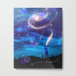The Universe In You Metal Print