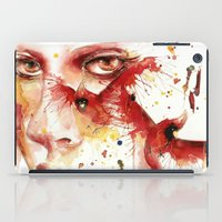 cardinal iPad Cases featuring Cardinal  by Chelsea Brouillette