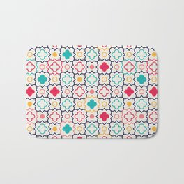 Cute Eastern Pattern Bath Mat