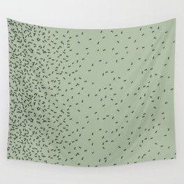 ANTS GREEN (BIG RUG) Wall Tapestry