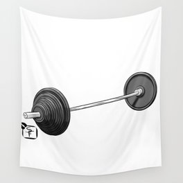 Barbell Wall Tapestry