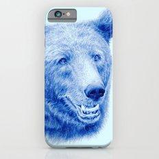 Brown bear is blue iPhone 6s Slim Case