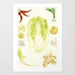 DIY Kimchi Art Print