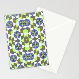 FLOWER OF LIFE GEOMETRIC PATTERN Stationery Cards