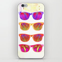 Sunglasses In Paradise iPhone Skin