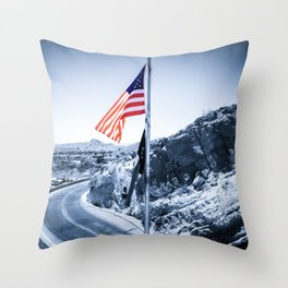 El Paso Scenic Drive Throw Pillow
