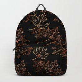 Maple Leaf (Black Glow) - Crisp Backpack