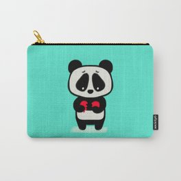 Sad Panda Carry-All Pouch