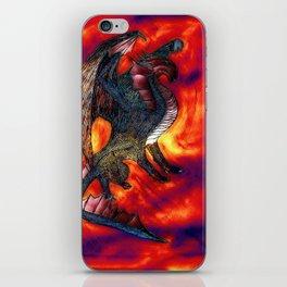 Dragon  Reflection iPhone Skin