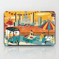 thailand iPad Cases featuring Bangkok, Thailand by Sam Brewster