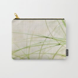 Green Wisps Carry-All Pouch