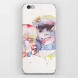 looking for you in my own color wave iPhone Skin