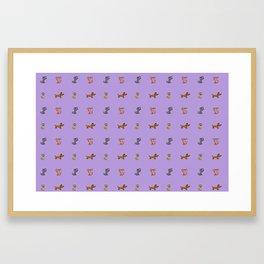 small dogs 2. art Framed Art Print