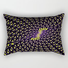 Infinite Connections Rectangular Pillow