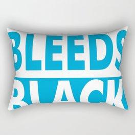THIS NURSE BLEEDS BLACK & BLUE Rectangular Pillow