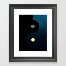 Natural Balance Framed Art Print