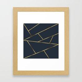 Copper and Midnight Navy #society6 #decor #buyart #artprint Framed Art Print
