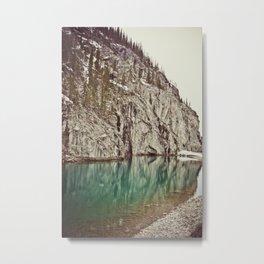 rocky mountains, canmore, alberta Metal Print