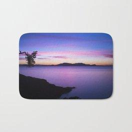 Vibrant Sunset Bath Mat