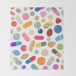 Sunny Pills Throw Blanket