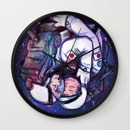 IWAOI in SPACE  Wall Clock