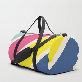 4 Retro Stripes #1 Duffle Bag