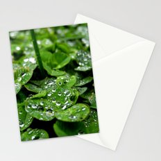 Bedazzled clovers Stationery Cards