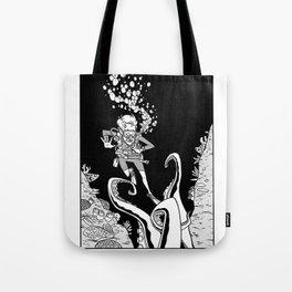 Death From Below Tote Bag