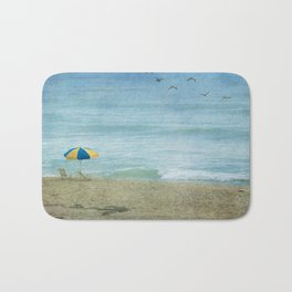 Beach Scene II Bath Mat