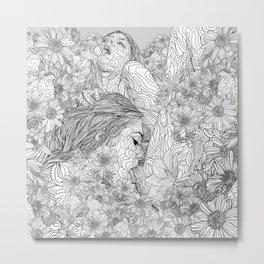 Lovemaking Metal Print