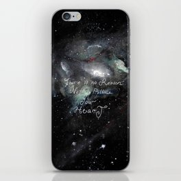 there is no reason not to follow your heart iPhone Skin