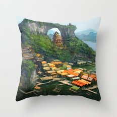 -Hometown- Throw Pillow