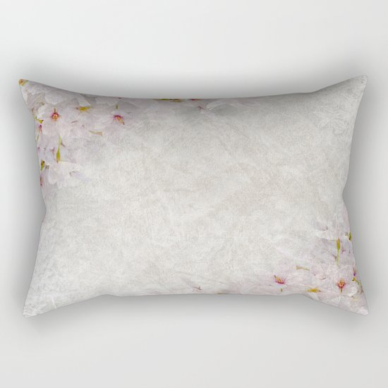 Cherry Blossom #1 Rectangular Pillow