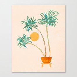 SoCal Palms Canvas Print