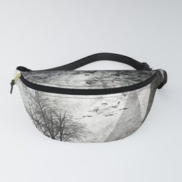 TREES besides MAGIC MOUNTAINS I Fanny Pack
