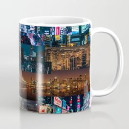 Cities of the world at night Coffee Mug