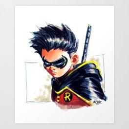 Son of the Bat Art Print