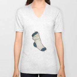 Fuzzy socks Unisex V-Neck