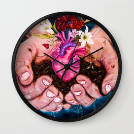 Nature is one's innerself Wall Clock