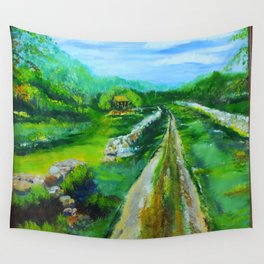 Mrs. Gambels Home Wall Tapestry