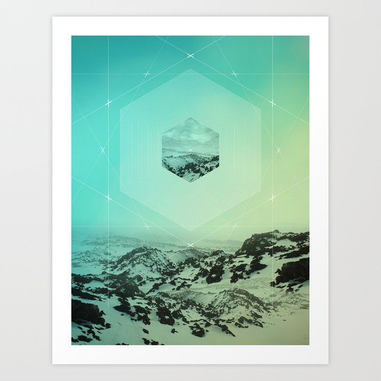 A Place Called Elsewhere Art Print