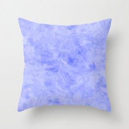 Grunge lavender sky Throw Pillow