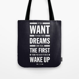 Lab No. 4 If You Want To Make J.M. Power Life Inspirational Quote Tote Bag