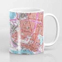Vintage Map of Oakland California (1959) Coffee Mug
