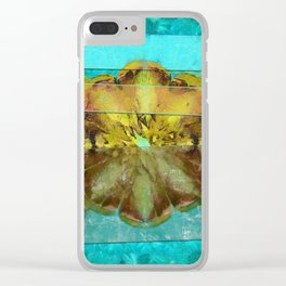 Embezzled Head Trip Flower  ID:16165-074104-06071 Clear iPhone Case
