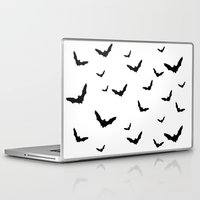 bats Laptop & iPad Skins featuring Bats by Miles Maxwell